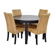 ikea round black dining table set with saveenlarge chair