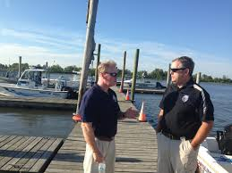 security drills along delaware river in advance of papal delaware county da jack whelan left during the papal drills credit