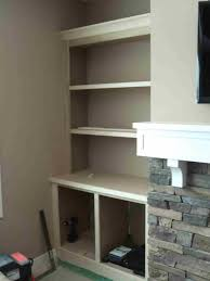 Built In With Fireplace Hammers And High Heels Feature Project Holly And Brians