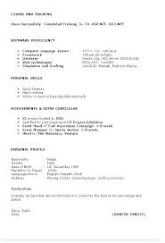Best Simple Resume Format Fascinating Indian Resume Format Best Rmat R Teachers Word Of Teacher In Free