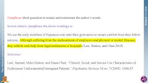 Quotationreference Citation Styles Libguides At The Chinese