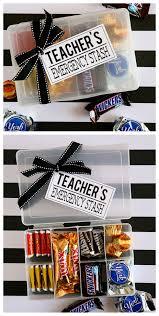 teachers emergency stash teacher appreciation gift ideas