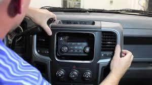 2013 2015 ram truck radio removal