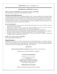 Resume Template With Objective Resumes For Office Jobs Skills Resume Examples Job Templates