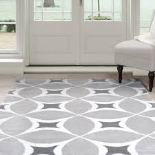 white and gray area rug amazing decorative black rugs for home with artistic regarding 22
