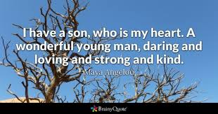 Love Quotes For My Son Gorgeous Son Quotes BrainyQuote