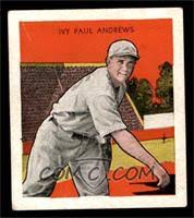 Ivy Andrews Baseball Cards