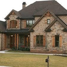 Best 25+ Rustic brick house exterior ideas on Pinterest   Stone exterior,  DIY exterior cedar shutters and Painted brick houses