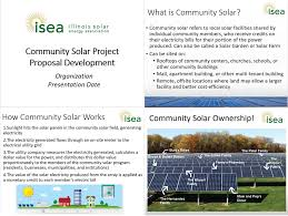 Illinois Solar Energy Association - Community Solar Project Proposal ...