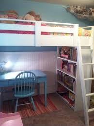 white bunk beds for girls Sweet Girl s Loft Bed