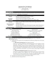 Science Resume Templates Computer Science Resume Template Resume ...
