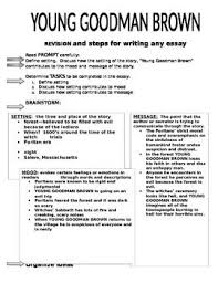best crucible images teacher created resources   young goodman brown process writing for the multi paragraph essay setting
