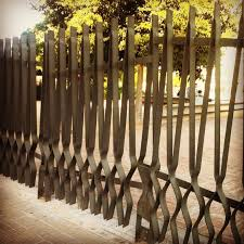 wrought iron fence designs. Delighful Designs Industrial Fencing That You Donu0027t Find Everyday Throughout Wrought Iron Fence Designs