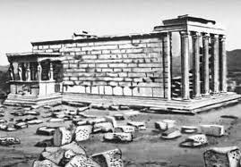 Храм Эрехтейон Реферат  он был центральным храмом посвященным культу богини Афины И если Парфенону отводилась роль общественного храма то Эрехтейон скорее храм жреческий
