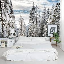 Alps winter forest wall mural amipublicfo Image collections