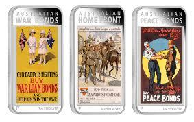 australian war bonds 2016 1oz silver proof coin