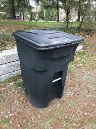 toter 96 gallon. Toter 96 Gallon Trash Can Wheeled Garbage Litres Other N