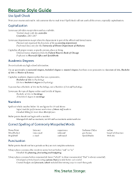 Gallery Of Examples Of Resume Titles