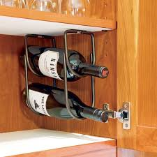 Rev A Shelf Under Cabinet Wine Bottle Rack 3250 Series Rockler Under  Counter Wine Rack