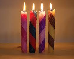 1candles you mostly make rolled beeswax candles