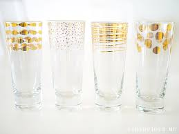 kate spade drinking glasses. Exellent Drinking Kate Spade And Indigo Holiday Haul  Sara Du Jour Intended Drinking Glasses S