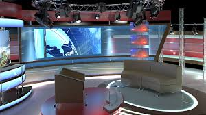 tv studio furniture. Tv Studio Furniture. Virtual Chat Set 1 3d Model Furniture O