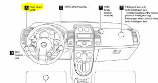 nissan sentra passenger compartment manual states diagram also a fuse box under the hood this is referred to as the engine compartment trust me i am correct just pull the storage compartment on the driver