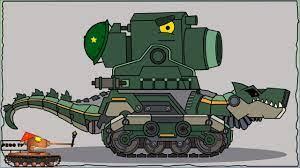 Cách vẽ Đấu sĩ chiến đấu Tankozila + Dora   Phim hoạt hình về xe tăng