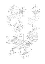 Skoda octavia 2013 2017 mounting parts for engine and ford standard transmission diagrams skoda