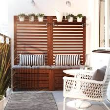 ikea bench seat cushions a balcony with brown wooden storage benches with seat cushions bed bench ikea bench seat