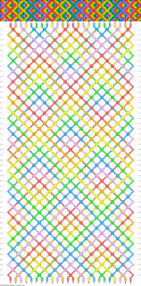 Diamond Friendship Bracelet Pattern