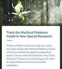 A Ripple in Time Pokemon Go Tasks (Page 1) - Line.17QQ.com