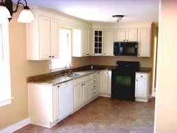 Your L Shape Kitchen With Granite Countertops And Small Kitchen Island