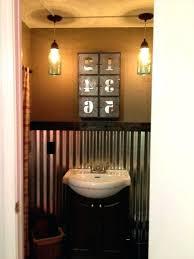 ideal corrugated metal bathroom walls i love the corrugated sheet metal xf53