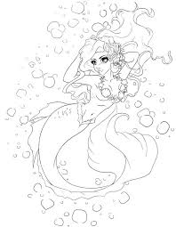Mermaids To Print And Color The