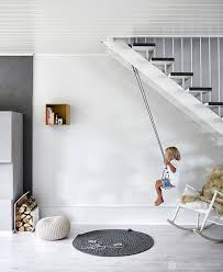 Kids Room: Boys Swing Decor With Bunk Beds - Swing Ideas