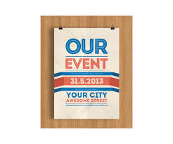 Template For Event Flyer Modern Poster Design For Party Or Event In Your Town Event Flyer