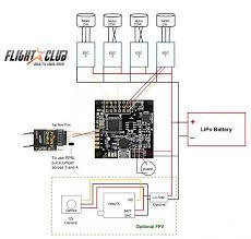 powering a fpv camera from the aux of a distribution board fpv quadcopter build schematic