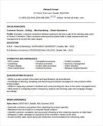 Entry Level Sales Associate Resumes 20 Sales Resume Samples Pdf Doc Free Premium Templates