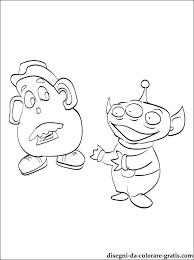 I Personaggi Di Toy Story Disegno Da Colorare Disegni Da Colorare