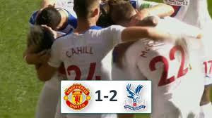 Манчестер Юнайтед - Кристал Пэлас 1-2 обзор матча