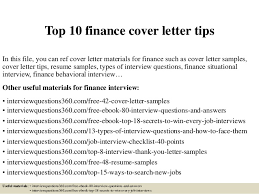 finance cover top 10 finance cover letter tips 1 638 jpg cb 1427714669