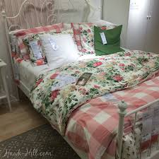 reviewing ikea s emmie blom fl duvet cover hawk hill