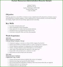 Objective For High School Resumes Resume Example For High School Student With No Experience