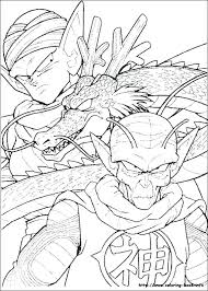 Dragon Ball Z Coloring Pages Piccolo Piccolo Coloring Pages Ball Z