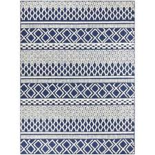 striped blue outdoor rugs rugs