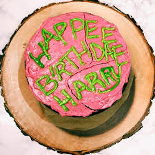 Harry Potters Sticky Chocolate Birthday Cake Gluten Free Refined