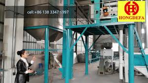 Flour Milling Plant Design Running 120t Maize Milling Mill Machine Corn Mill Flour