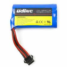 <b>2PCS</b> 7.4V 1500mAh Li-ion Battery <b>RC</b> Boat Parts for UDIRC Rapid ...
