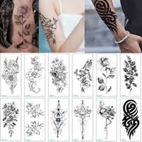 Wholesale Black <b>Flowers Tattoo</b> for Resale - Group Buy Cheap ...